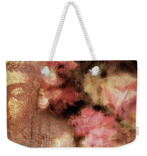 The Garden Buddha 1 Weekender Tote Bag