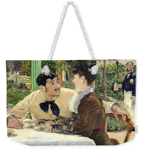 The Garden Of Pere Lathuille Weekender Tote Bag