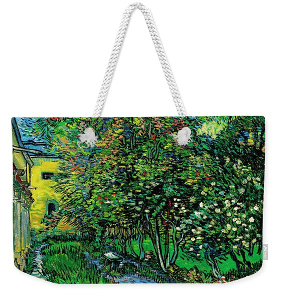 The Garden Of The Asylum At Saint-remy Weekender Tote Bag