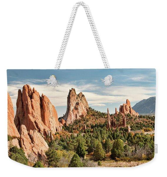 The Garden Of The Gods - Colorado Weekender Tote Bag