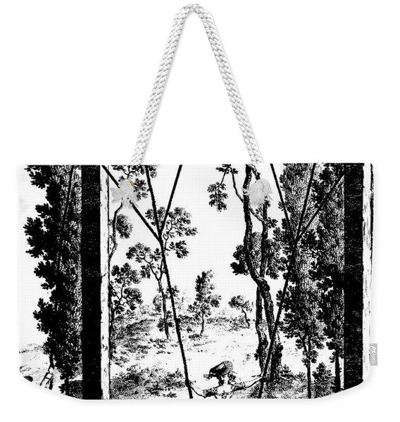 The Garden Swing At Rambouillet Weekender Tote Bag