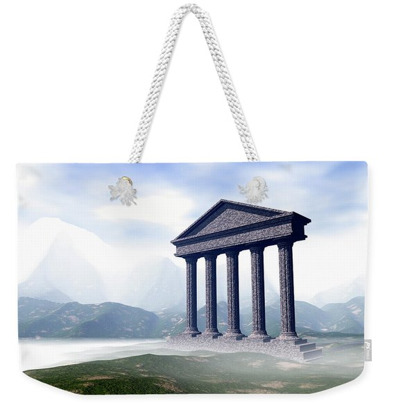 The Gate Of The Gods Weekender Tote Bag
