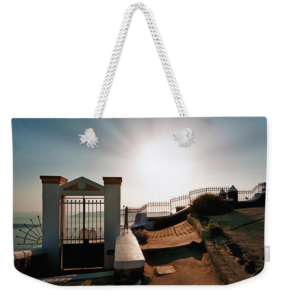 The Gate Of The Sun Weekender Tote Bag