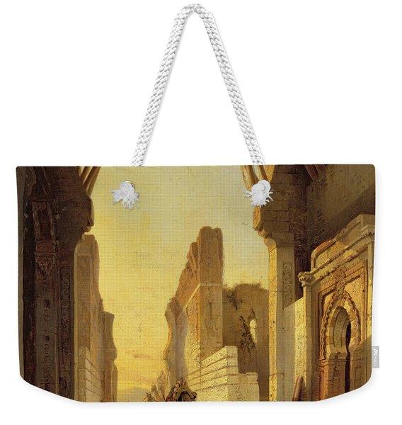 The Gates Of El Geber In Morocco Weekender Tote Bag