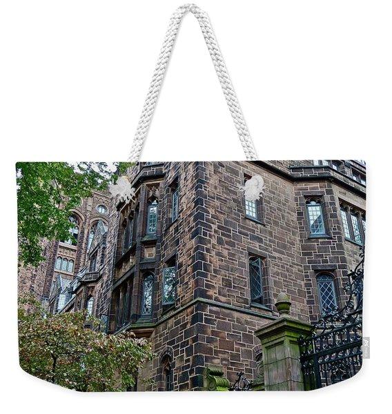 The Gates Of Yale Weekender Tote Bag