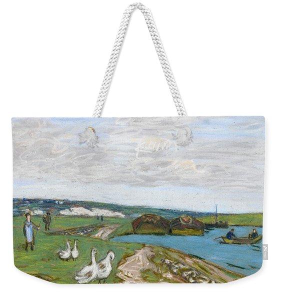 The Geese Weekender Tote Bag
