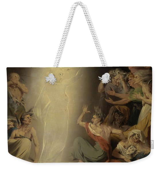 The Ghost Of Clytemnestra Awakening The Furies Weekender Tote Bag