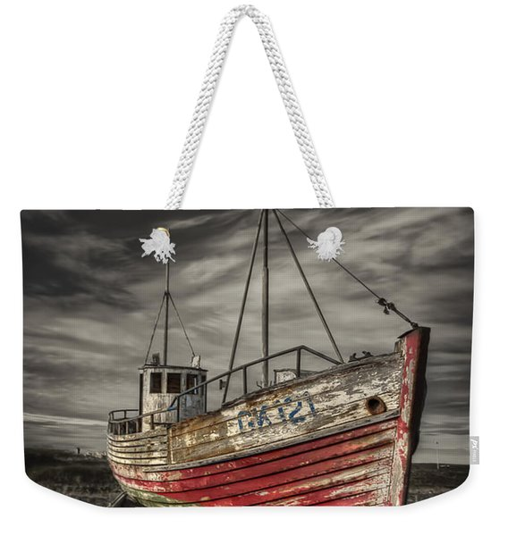 The Ghost Ship Weekender Tote Bag
