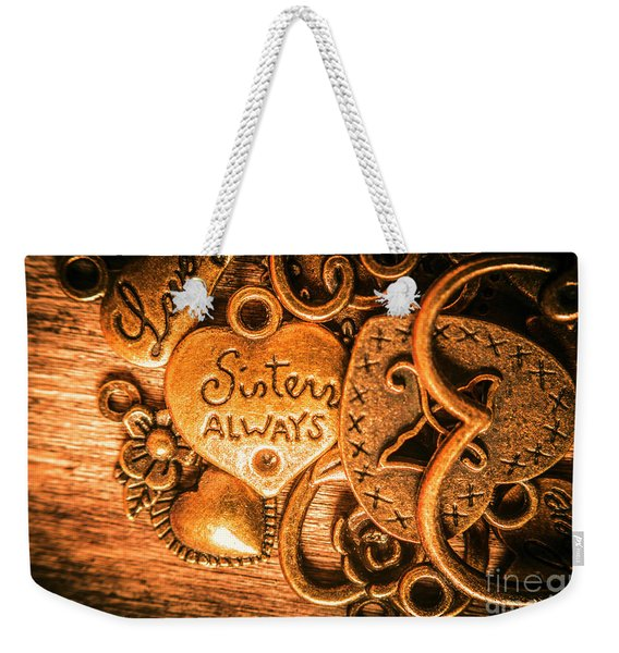 The Gift Of A Sister Weekender Tote Bag