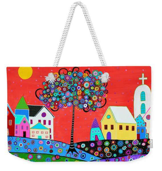 The Gift Of Life Weekender Tote Bag