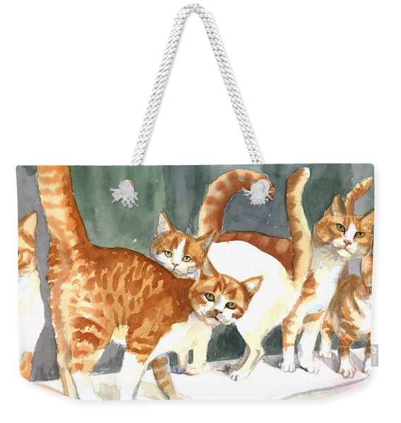 The Ginger Gang Weekender Tote Bag