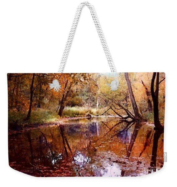 The Glade Weekender Tote Bag