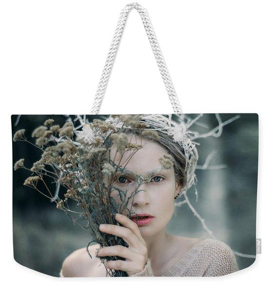 The Glance. Prickle Tenderness Weekender Tote Bag