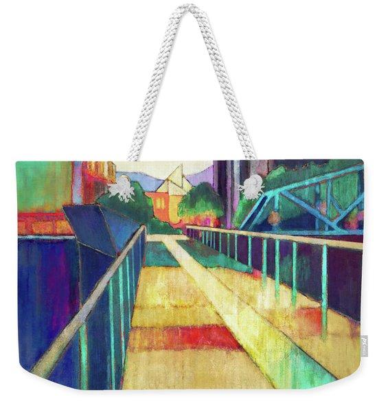 The Glass Bridge Weekender Tote Bag