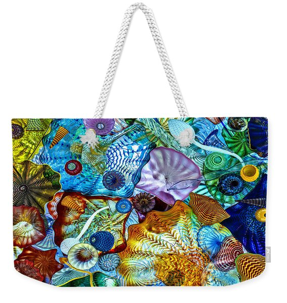The Glass Ceiling Weekender Tote Bag