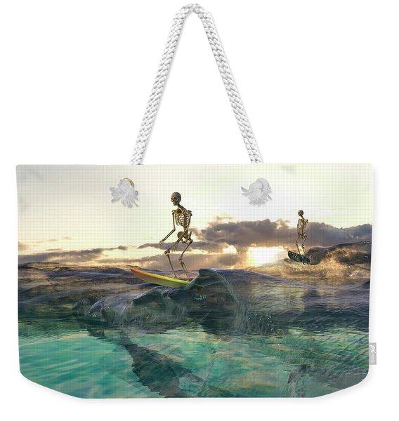 The Glass Ocean Weekender Tote Bag
