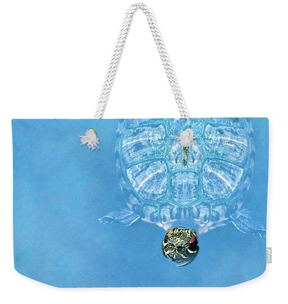 The Glass Turtle Weekender Tote Bag