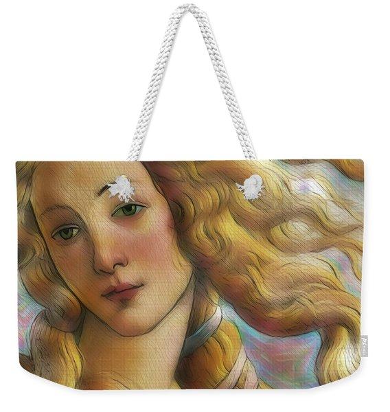 The Goddess Venus Weekender Tote Bag