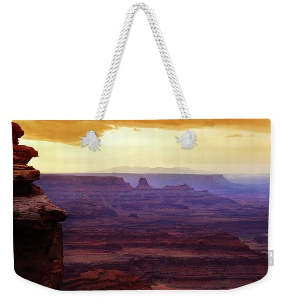 The Gold Light Of Dawn Weekender Tote Bag