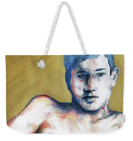 The Golden Boys Stares Back  Weekender Tote Bag