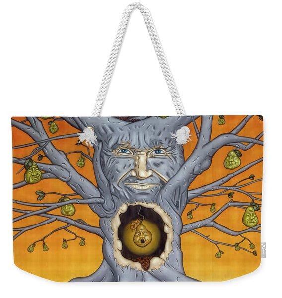 The Golden Pear Weekender Tote Bag