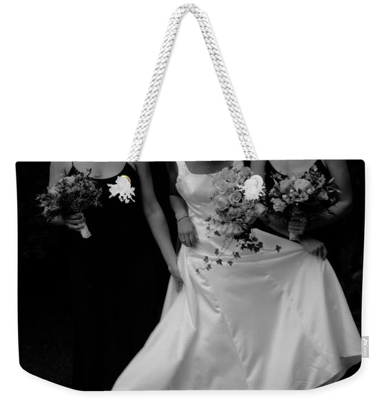 Weekender Tote Bag featuring the photograph The Gown by Wayne King
