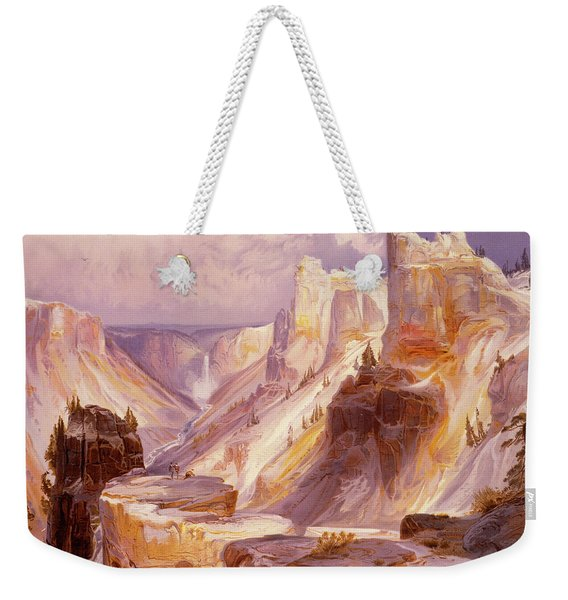 The Grand Canyon, Yellowstone Weekender Tote Bag