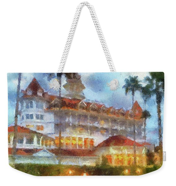 The Grand Floridian Resort Wdw 01 Photo Art Mp Weekender Tote Bag