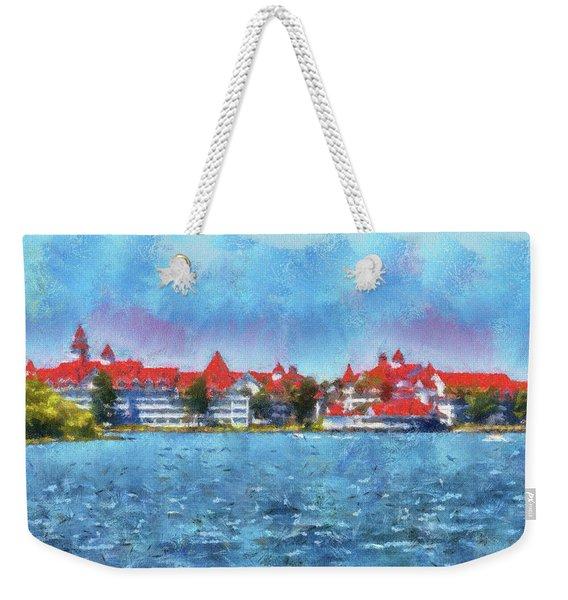 The Grand Floridian Resort Wdw 03 Photo Art Mp Weekender Tote Bag