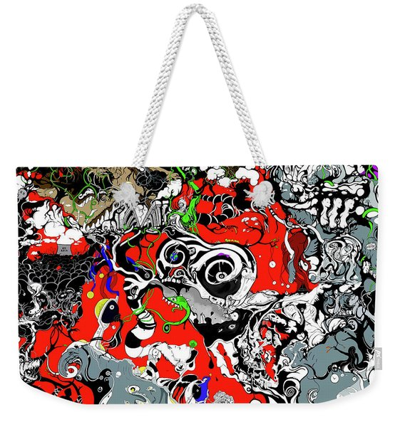 The Grapevine Wall Section 1 Weekender Tote Bag