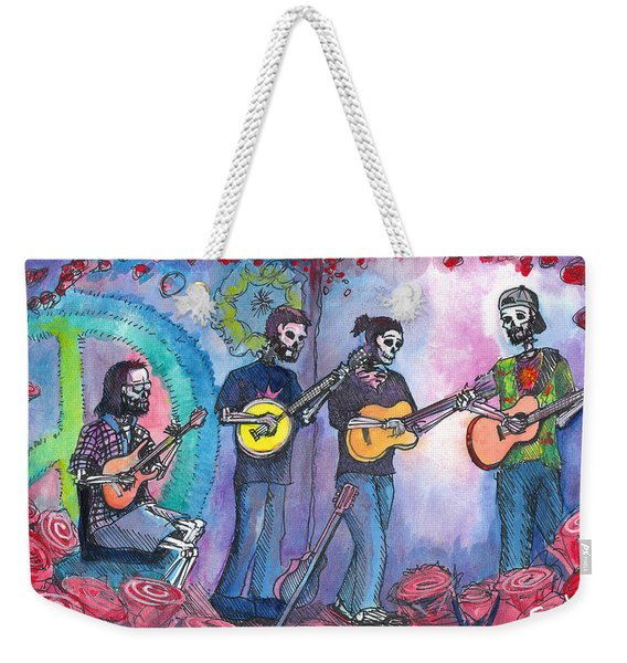 The Grass Is Dead Weekender Tote Bag