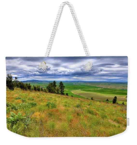 The Grasses Of Kamiak Butte Weekender Tote Bag