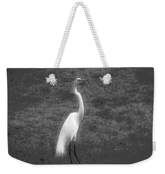 The Great Egret Weekender Tote Bag
