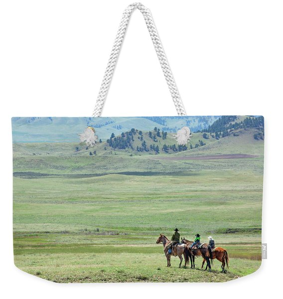 The Great Montana Expanse Weekender Tote Bag