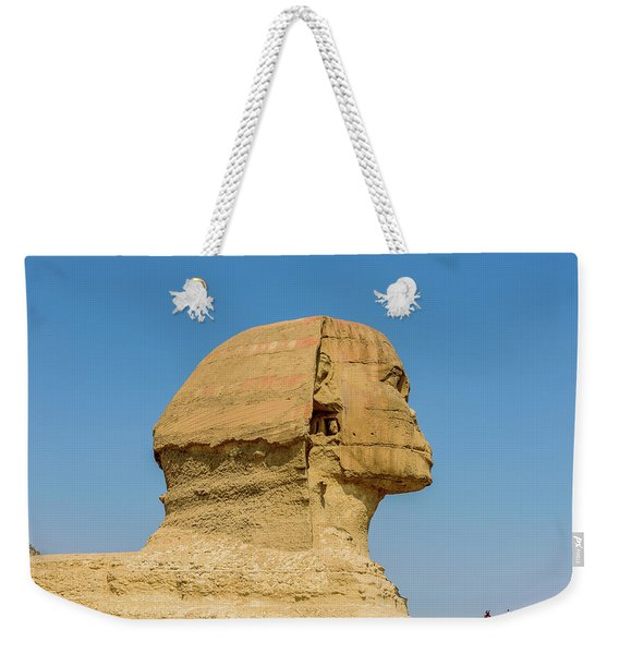 The Great Sphinx - Giza - Cairo, Egypt Weekender Tote Bag