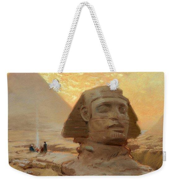 The Great Sphinx Of Giza Weekender Tote Bag
