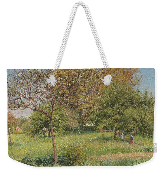 The Great Walnut Tree, Morning, Eragny Weekender Tote Bag