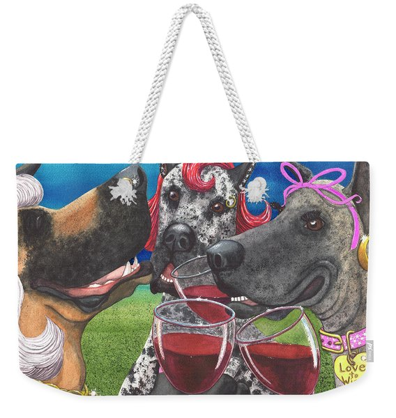 The Greatest Wining Bitches Weekender Tote Bag