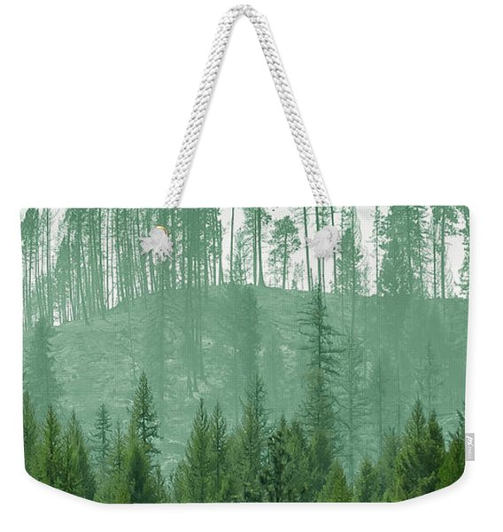 The Green And The Not So Green Weekender Tote Bag