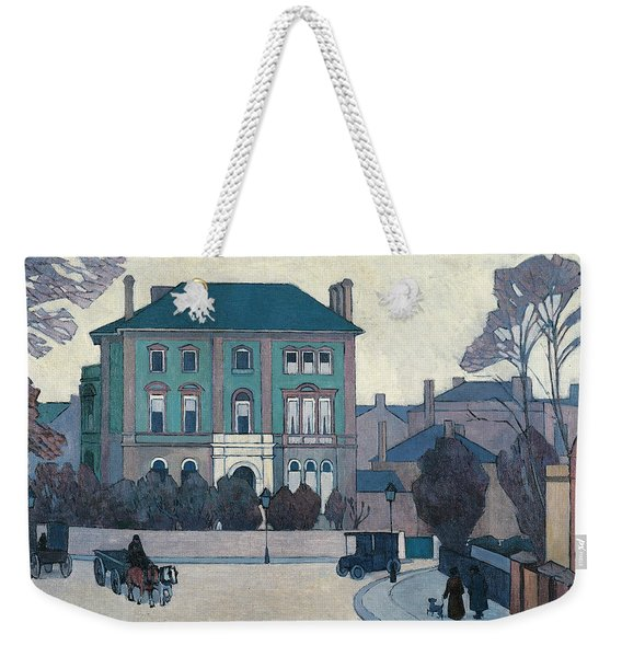 The Green House, St John's Wood Weekender Tote Bag