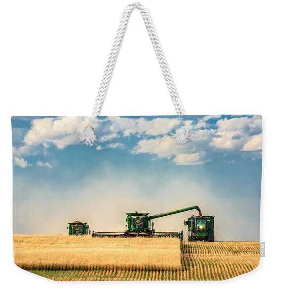 The Green Machines Weekender Tote Bag