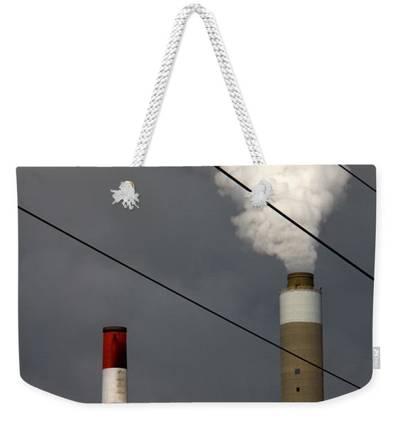 The Grid Weekender Tote Bag