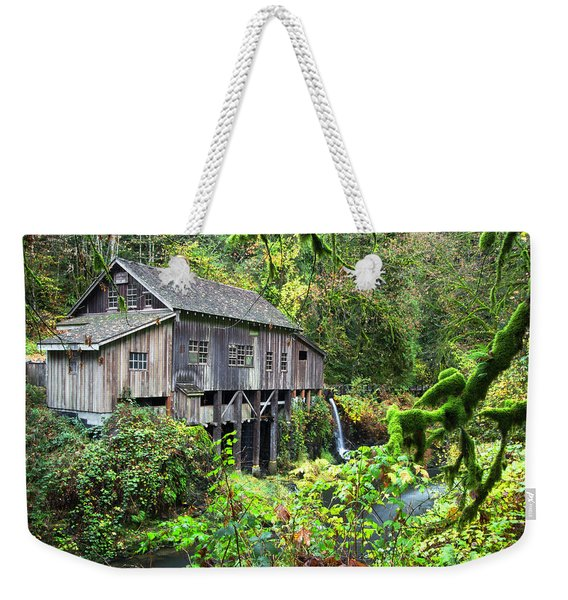 The Grist Mill, Amboy Washington Weekender Tote Bag