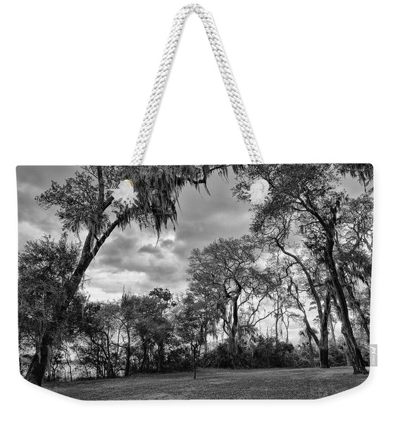 The Grounds Of Fort Caroline National Memorial Weekender Tote Bag