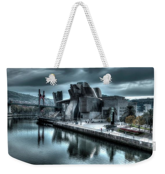 The Guggenheim Museum Bilbao Surreal Weekender Tote Bag