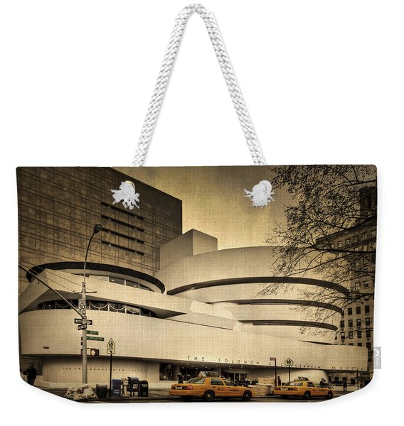 The Guggenheim Weekender Tote Bag