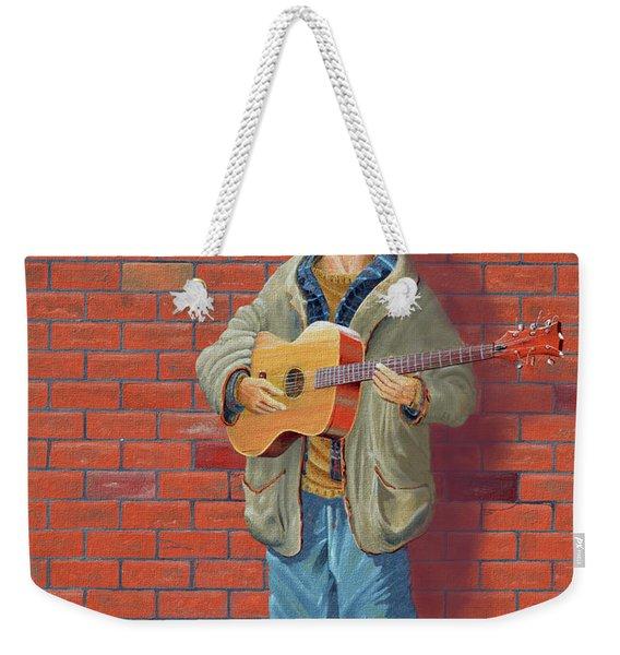 The Guitarist Weekender Tote Bag