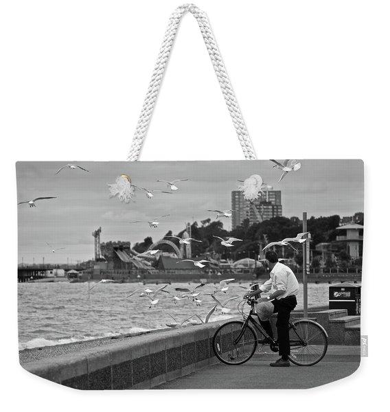 The Gull Man Weekender Tote Bag