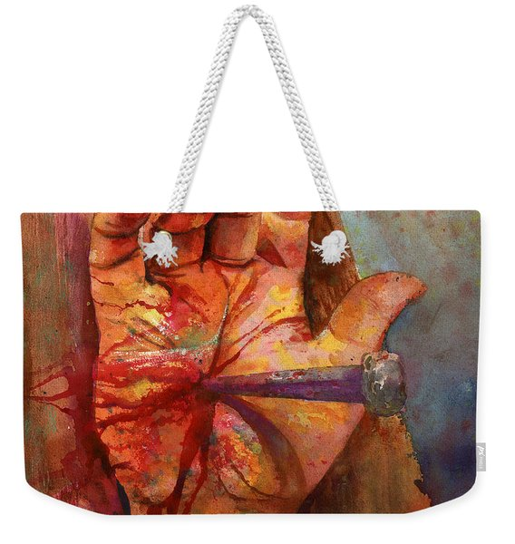 The Hand Of God Weekender Tote Bag