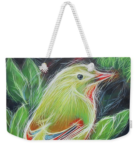 The Happiness Of Green Weekender Tote Bag